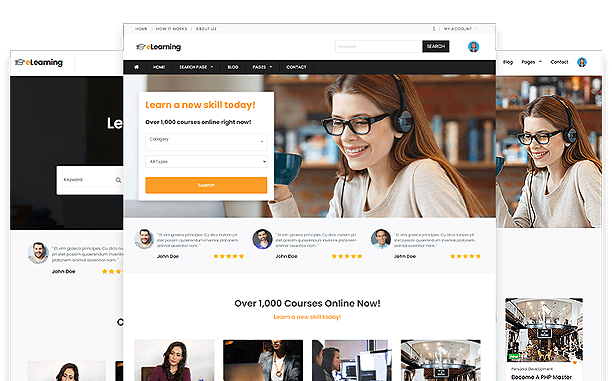 LMS eLearning Theme
